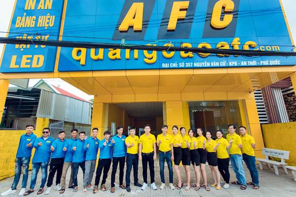 Quảng Cáo AFC mở thêm Chi nhánh mới tại An Thới Phú Quốc