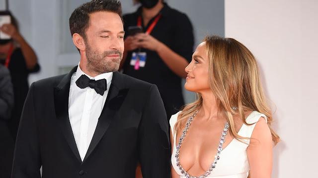 Ben Affleck and Jennifer Lopez were spotted together at the Venice Film Festival