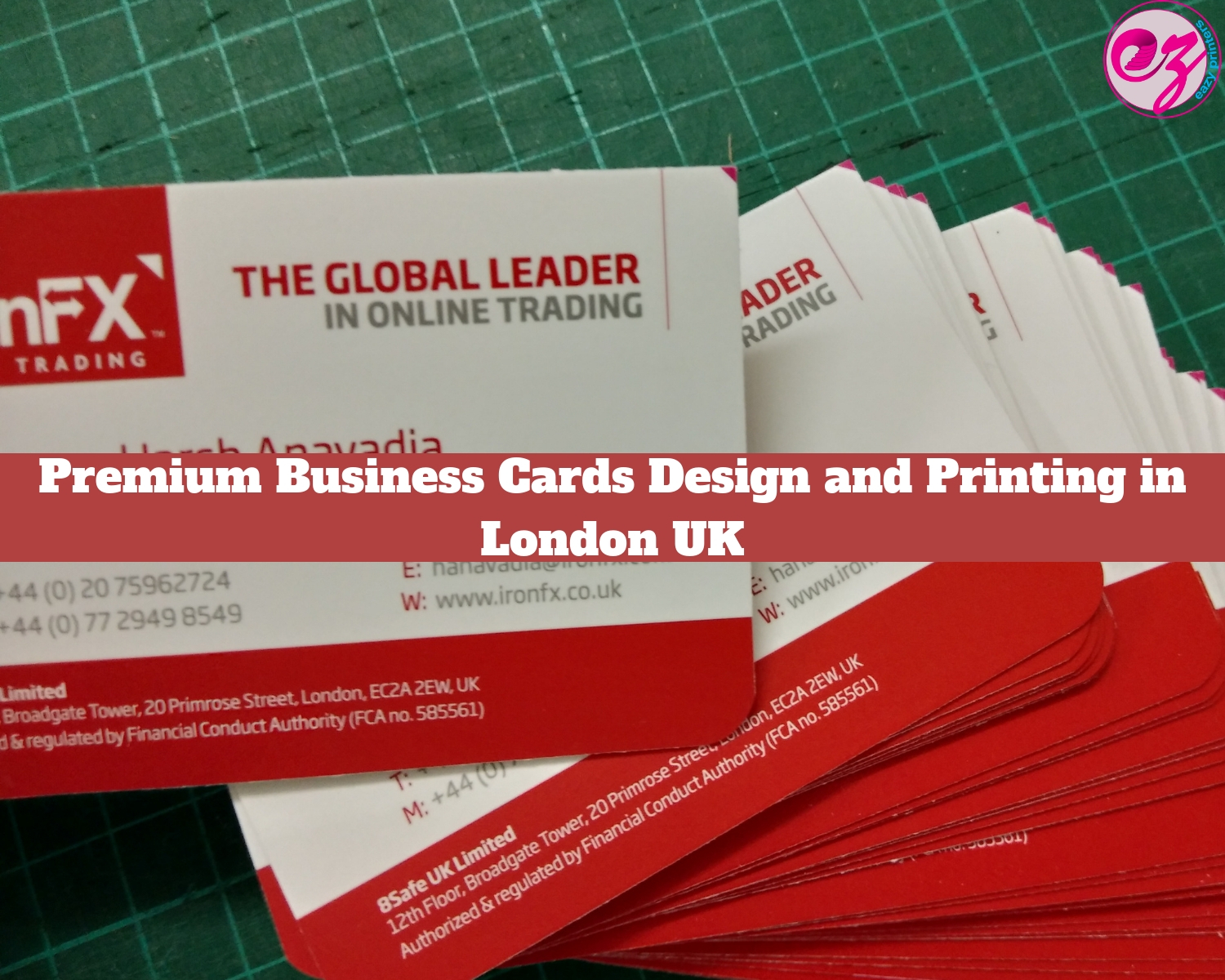 Premium Business Cards Design And Printing In London Uk