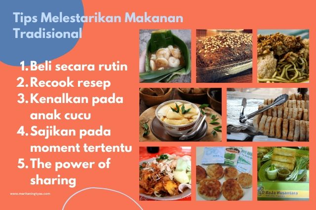 tips melestarikan makanan tradisional