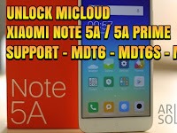 Unlock Micloud Mi Account Xiaomi Note 5A Ugglite | Note 5A Prime Ugg  Support MDT6 - MDE6S