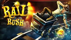Rail Rush Miniclip - Game Offline Petualangan