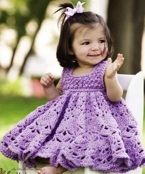 Frilly Dress - Free Pattern