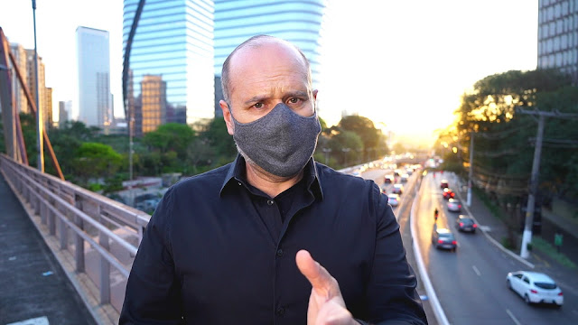 O repórter Gilberto Smaniotto destaca inúmeras formas de enfrentar os problemas