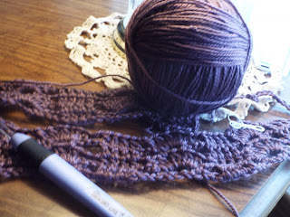 Crochet by the sea