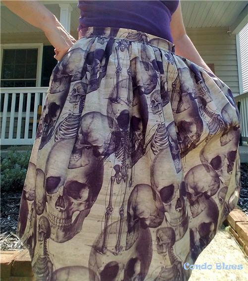 How to make an easy pocket skirt for women