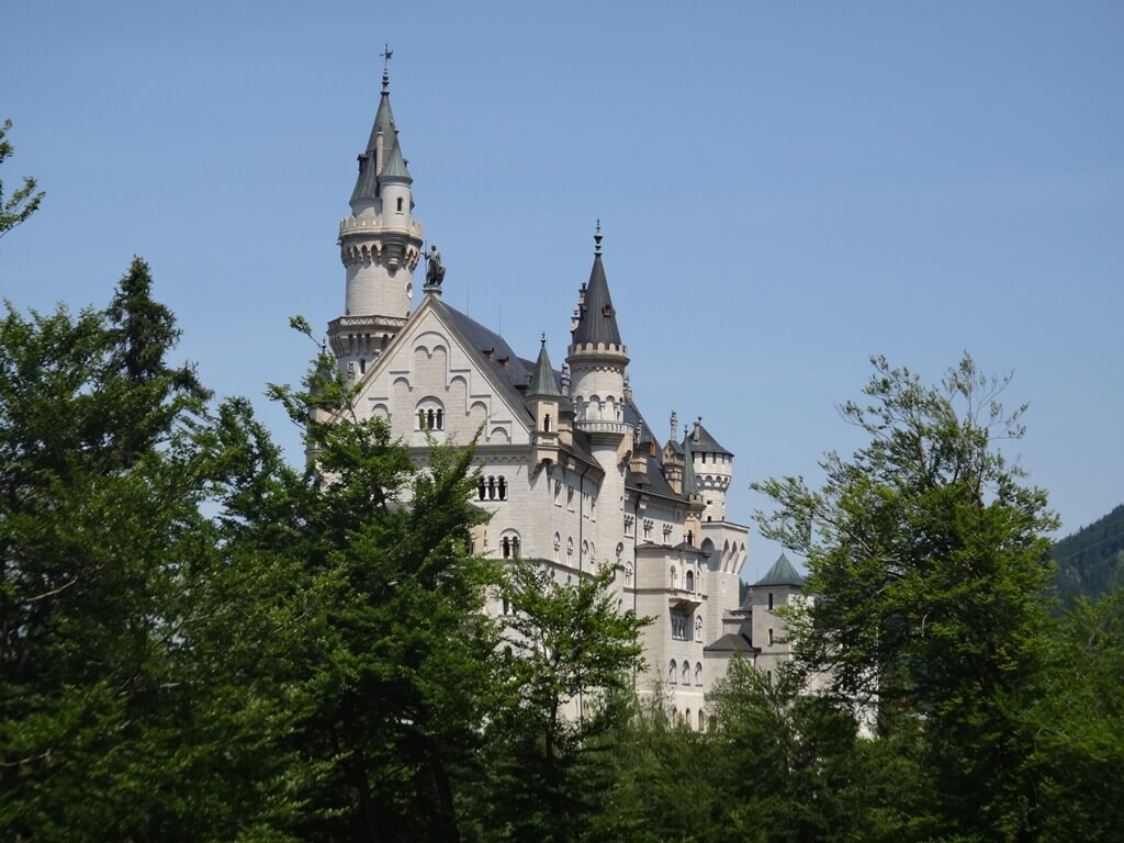 Castelo de Neuschwanstein o Castelo da Cinderela da Disney
