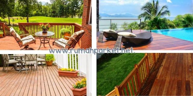 lantai kayu outdoor