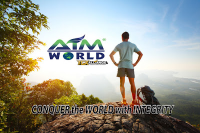Aim World Conquer the World with Integrity