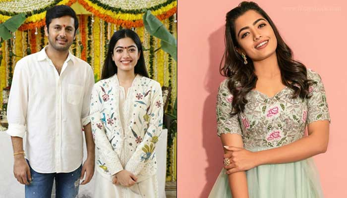 Rashmika And Nittin ! mdwbd.com