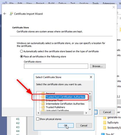 Génération du Certificat et de la Clef associée pour servir Angular derrière Https