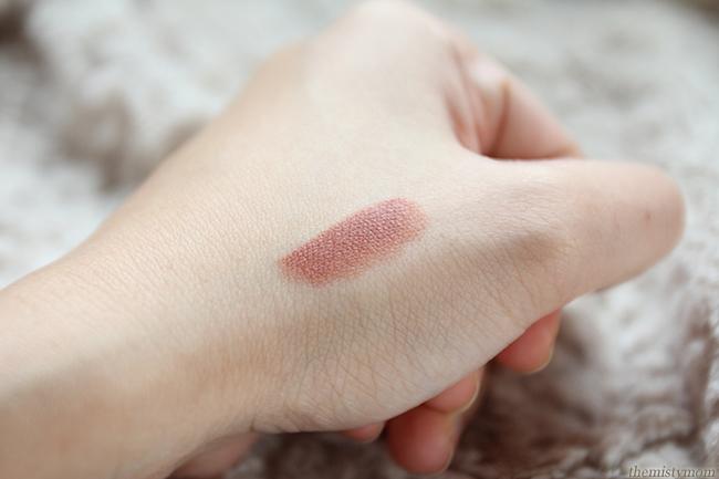 mac velvet teddy lipstick swatch