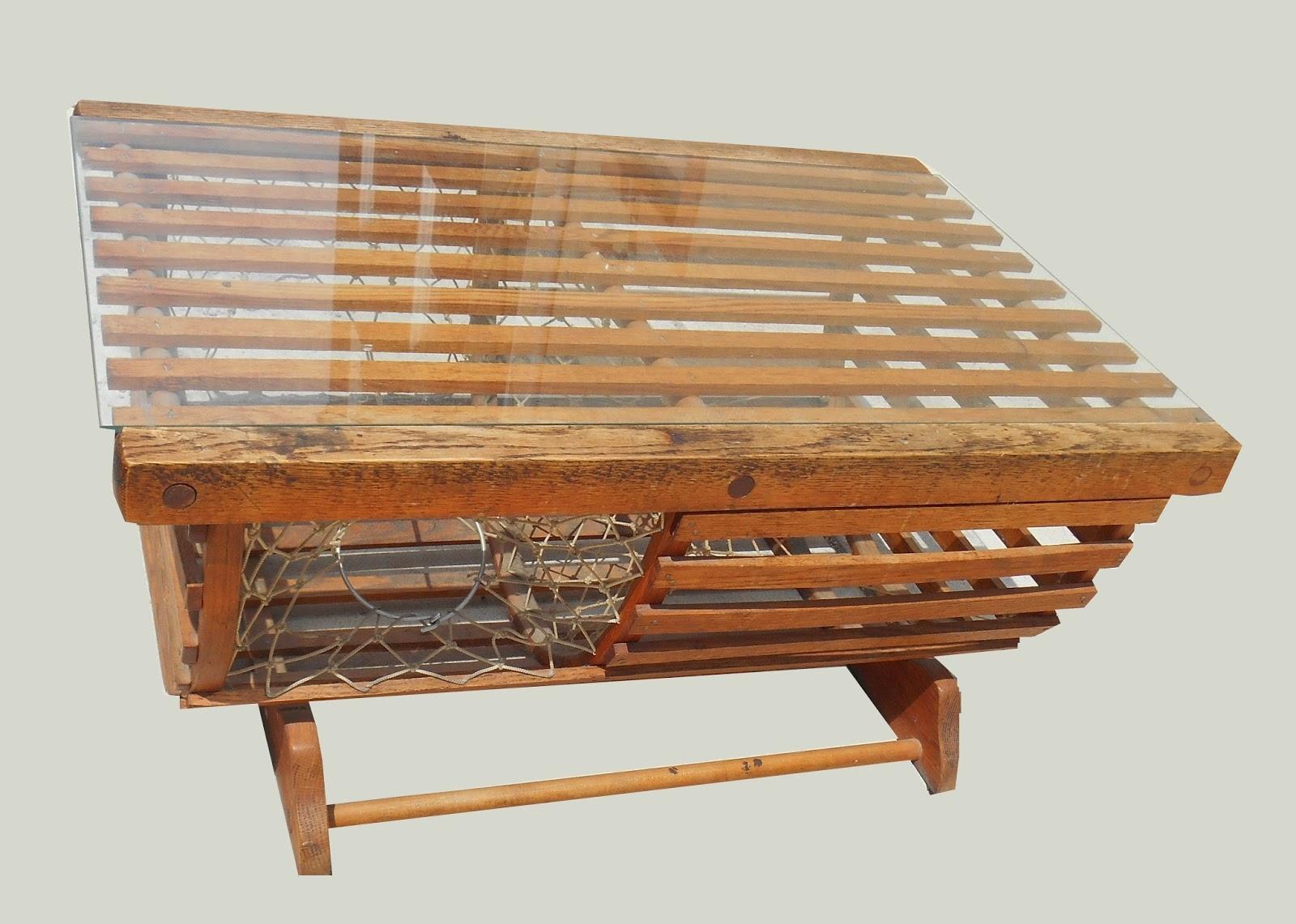 Uhuru Furniture Collectibles Nautical Coffee Table Sold