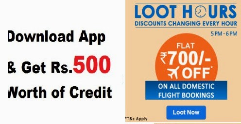 Goibibo Offers - Flat Rs  700 off on All Domestic Flights