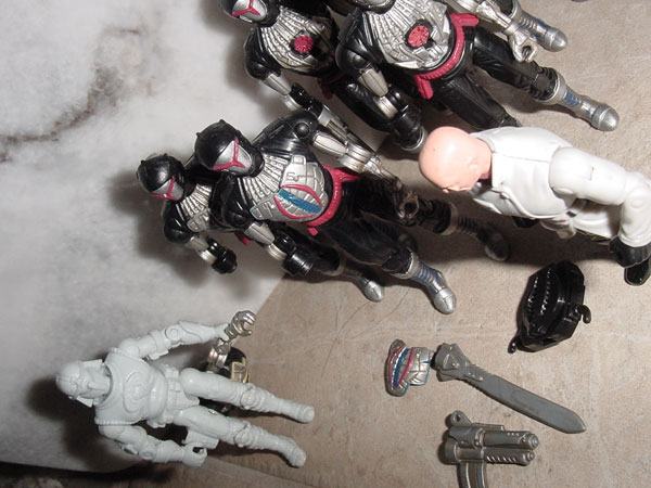 2003, Tele Viper, Dr. Mindbender, BAT, Battle Android Trooper, Cobra, Pre Production, Prototype, Midnight Chinese
