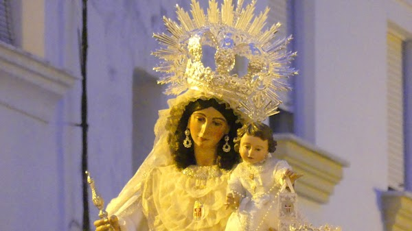 Horario e Itinerario Rosario Vespertino Virgen de la Merced. Rota 24 de Septiembre del 2021