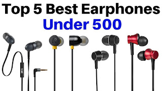 Best earphones under 500/-