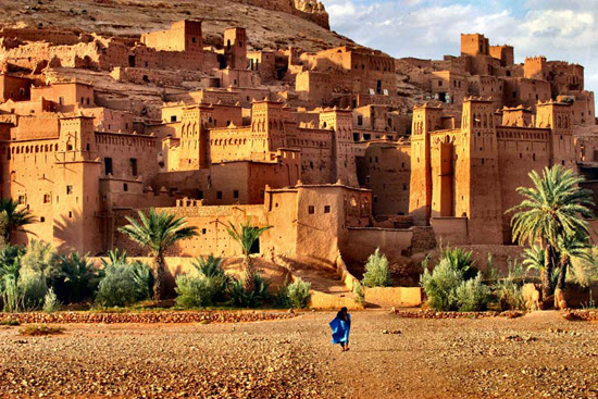 Safari Fusion blog | Colour crush: Ochre | Spectauclar mud brick architecture of Ait Benhaddou Morocco
