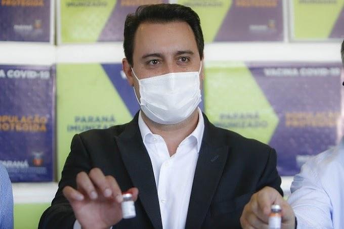 População adulta do Paraná deve ser vacinada com a 1ª dose contra a Covid-19 até setembro