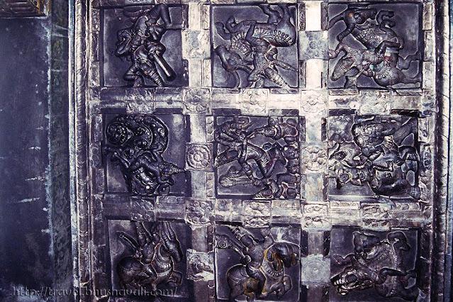 Mallikarjuneswarar Dharmapuri Temple - Kottai Koil - Navagraha Panel
