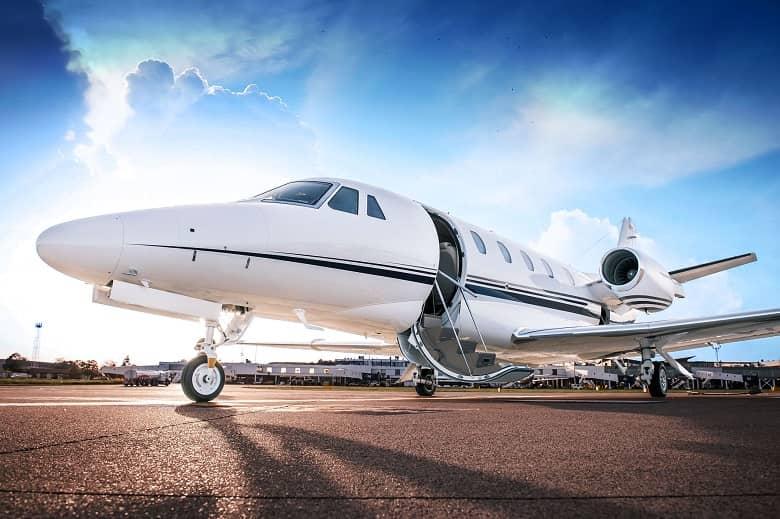Ascent Aviation jet