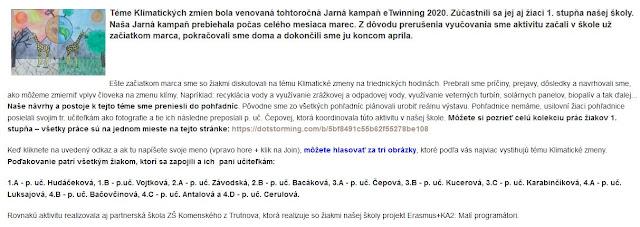 http://zshu.sk/index.php/projekty/e-twinning/item/1512-jarna-kampan-etwinning-2020-prace-ziakov-1-stupna