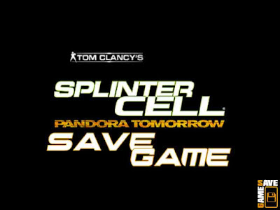 SC Pandora Tomorrow Save Game PC