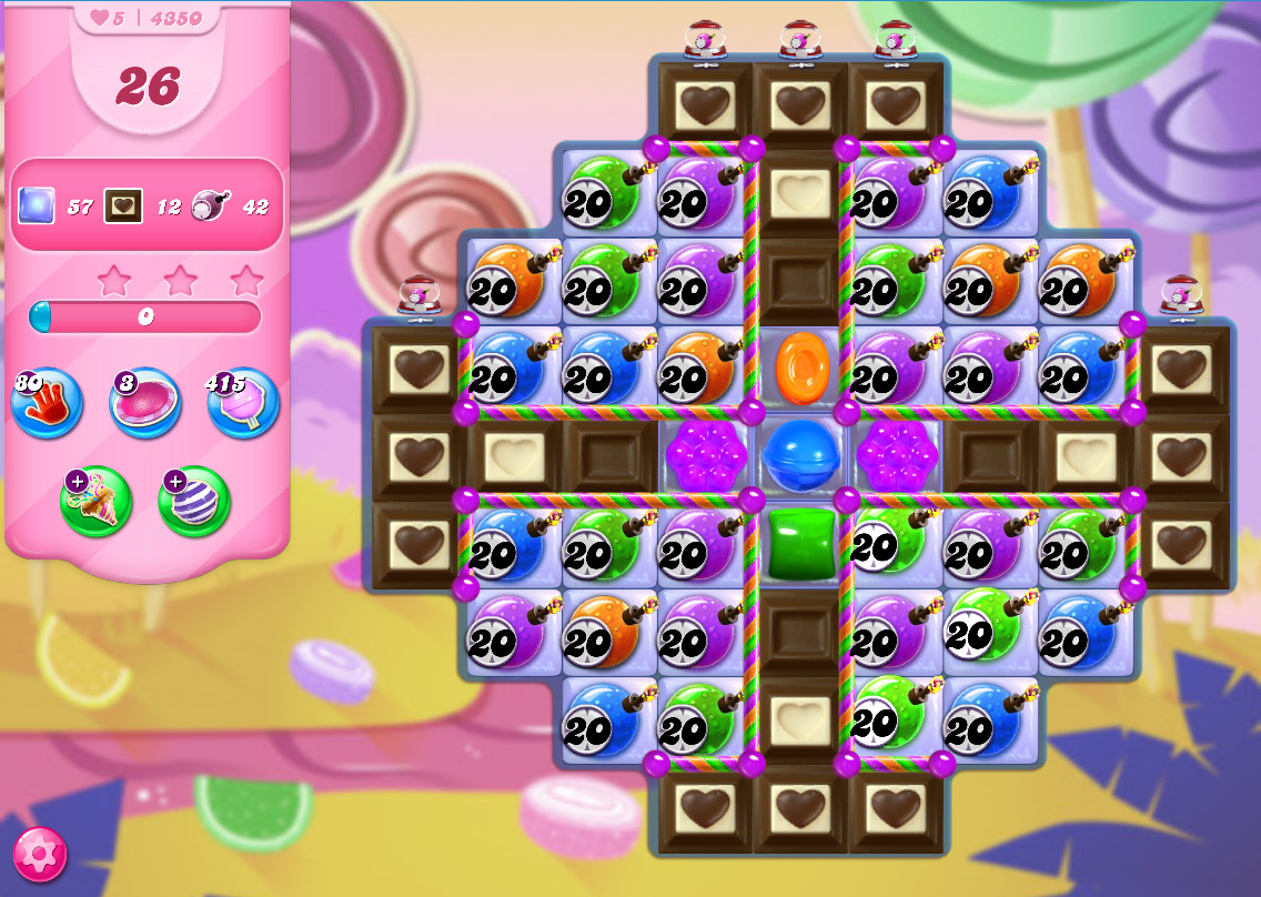 Candy Crush Saga level 4250