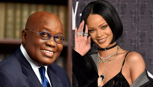 What Rihanna had to say about Akufo-Addo's speech in Senegal [Watch Video]