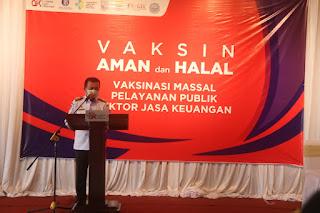 Gubernur Jambi Apresiasi Peran Serta OJK Tanggulangi Covid-19 di Provinsi Jambi