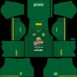 Kit DLS Persebaya 2019/2020 - Kit FTS Persebaya 2019/2020