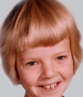BRENDA WILBEE, 9 years old, Meteor Ranch 1962