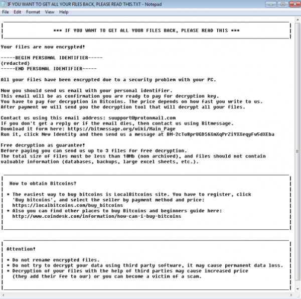 Crabs (Ransomware)
