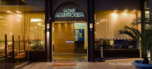 Fachada do Hotel Arethusa, Atenas