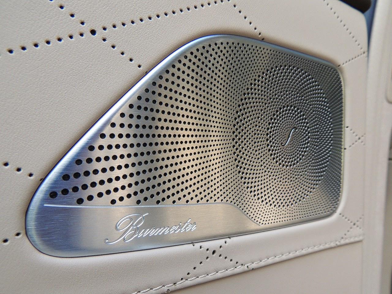 Mercedes S 500 L 4MATIC - głośnik systemu audio Burmester Surround
