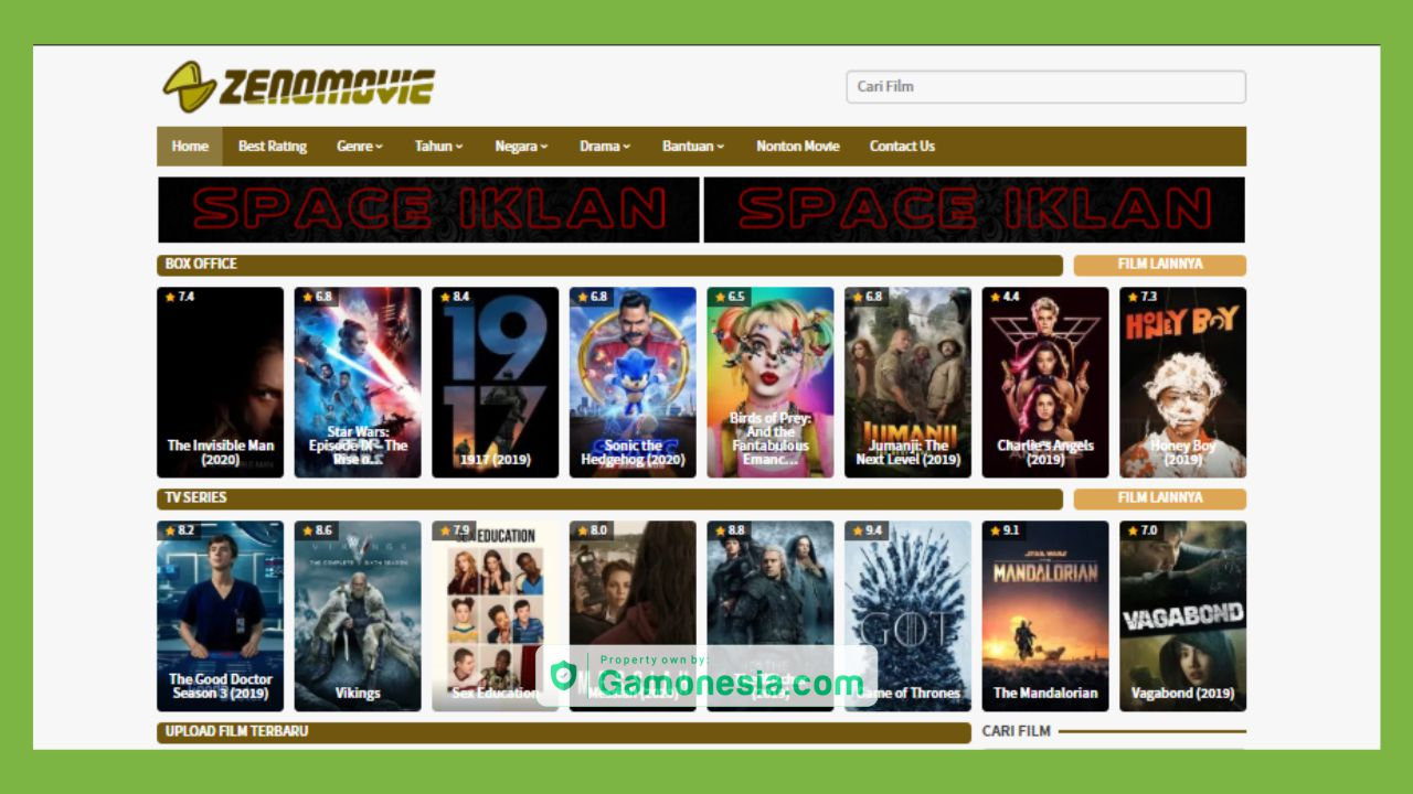 situs download film: Zenomovie