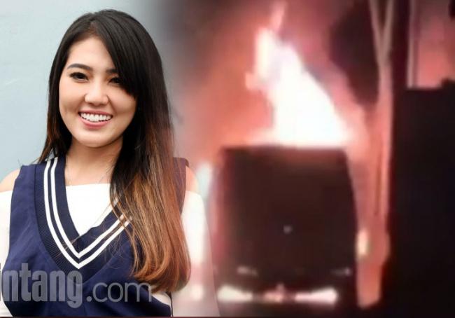 Mobil Toyota Alphard Milik Penyanyi Dangdut Via Vallen dibakar Oknum, Berikut Kronologinya