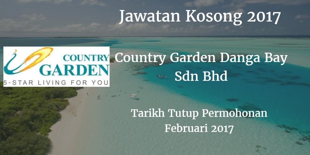 Jawatan Kosong Country Garden Danga Bay Sdn Bhd Februari 2017