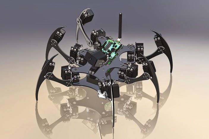 Hexapod Robotic Project - RoboTronicsPro