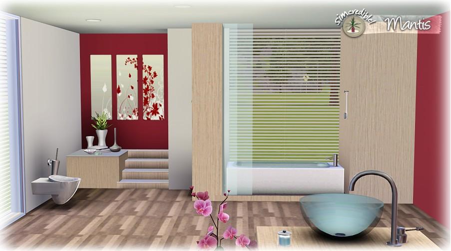 News mantis bathroom set by simcredible designs for Channel 4 bathroom design ideas