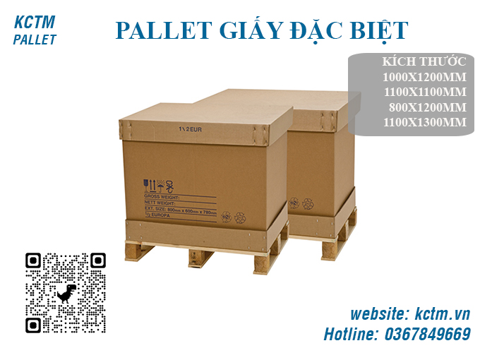KCTM Pallet báo giá sỉ Pallet giấy đặc biệt