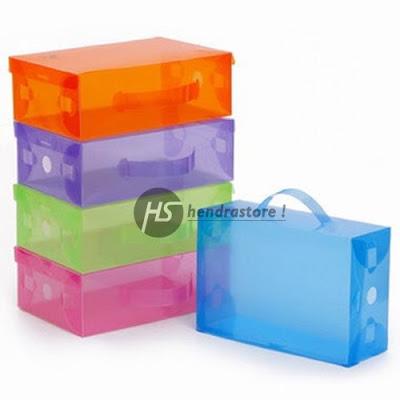 Kotak Sepatu Transparan Termurah - Box Penyimpanan Sepatu