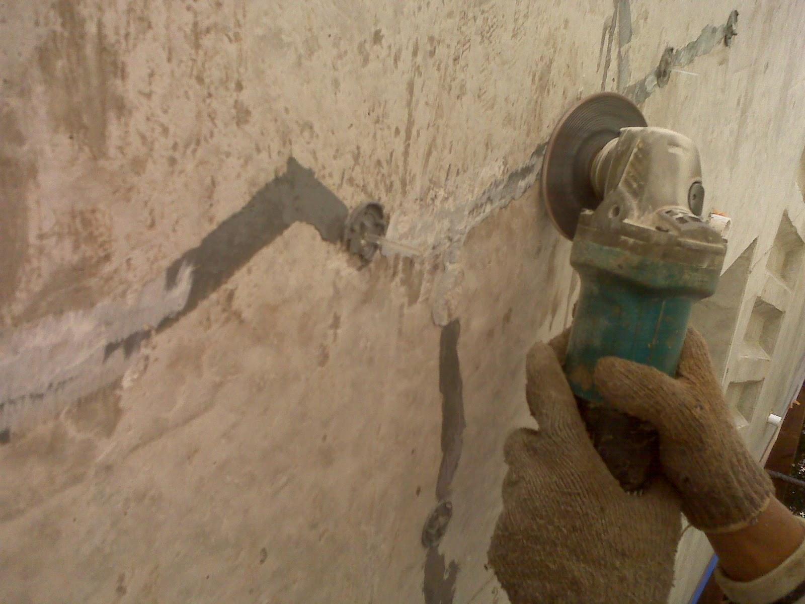 perbaikan beton finishing