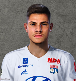 PES 2020 Faces Bruno Guimarães by Lucas Facemaker