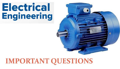 Induction Motor important questions-Electrical Engineering