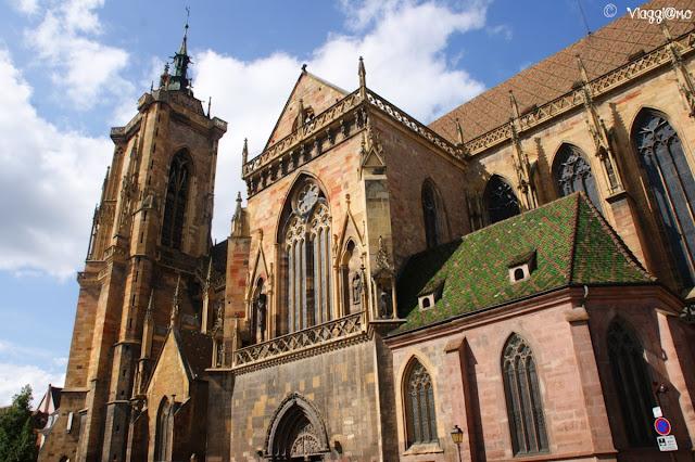 La cattedrale gotica di Colmar