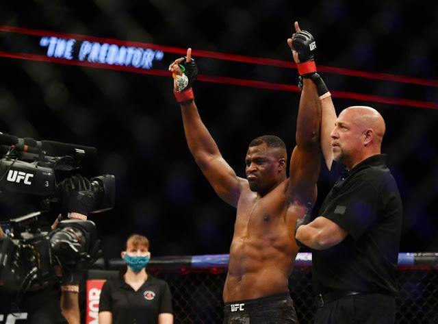 Francis Ngannou UFC 249