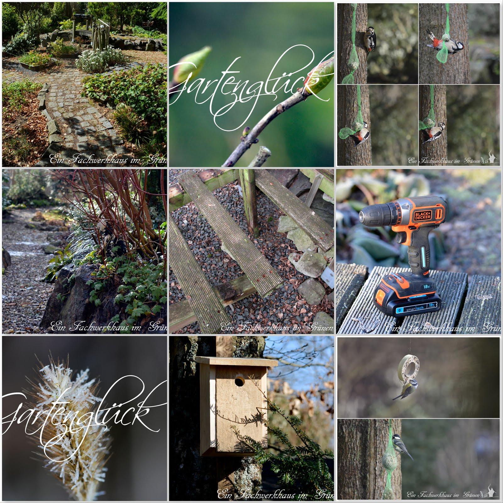 Collage, Gartenblog