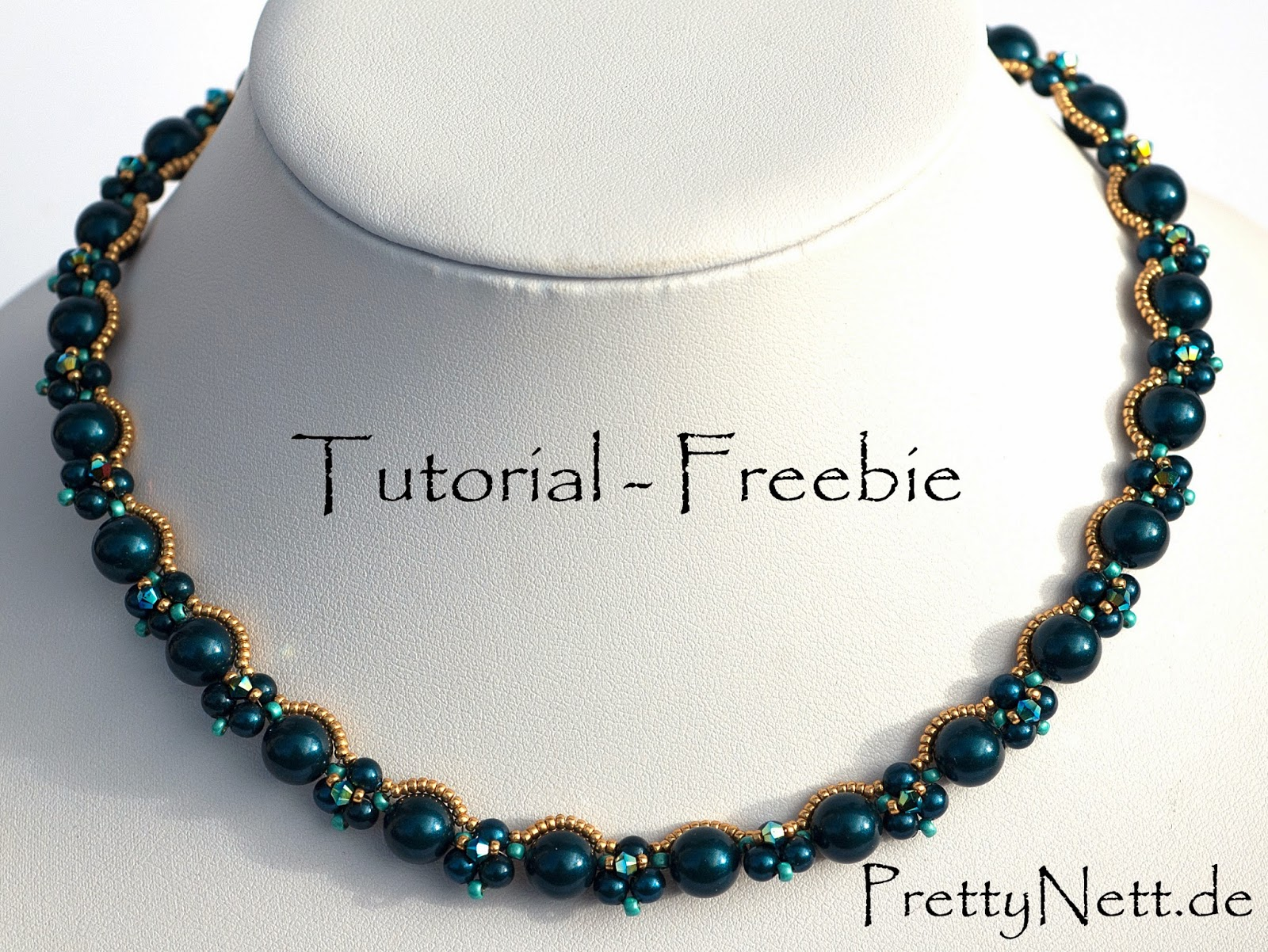 Kette Necklace True Romance Beading Tutorial Freebie