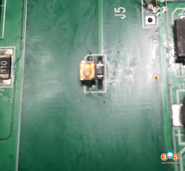 Change CGDI MB IR transmitter and receiver 3